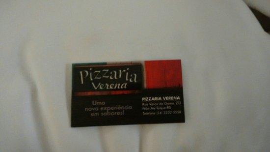 Nao-Me-Toque, RS: Pizzaria Verena