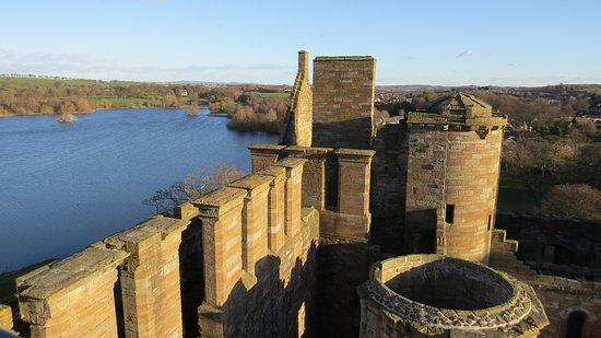 Linlithgow, UK: Sulla torretta più alta