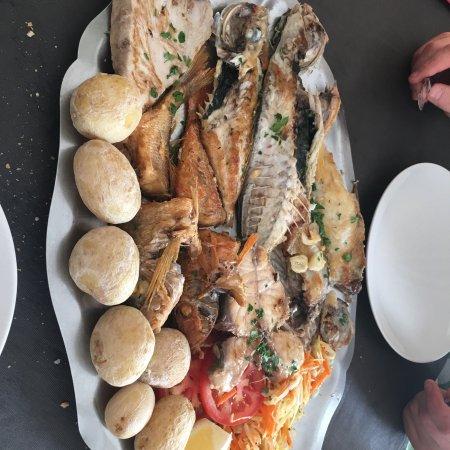 Las Playitas, Spagna: Parrillada de pescado para dos