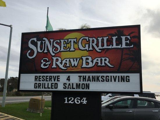 Duck, NC: Restaurant sign