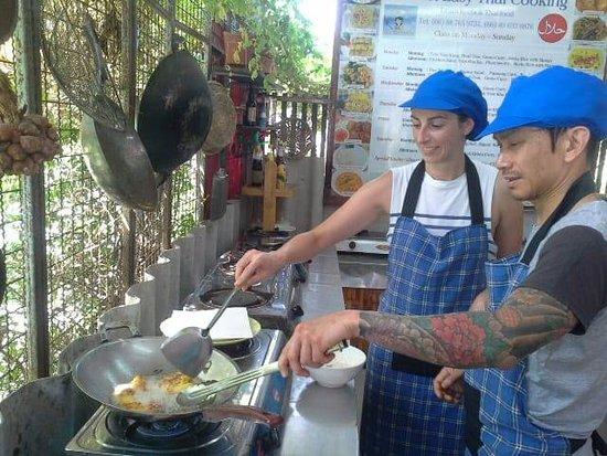 Rawai, Thailand: banana fritter..yum yum