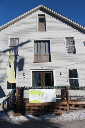 MoreFit's new location is a recently renovated historic building in the East Haddam village cent