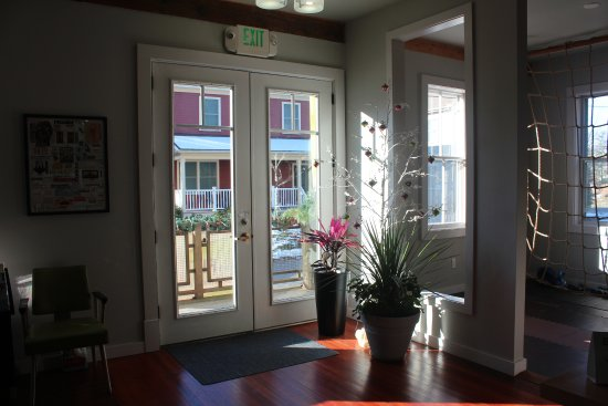 East Haddam, CT: Our spacious entrance is full of natural sunlight.
