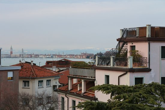 Le Boulevard Hotel: Venice over the roofs