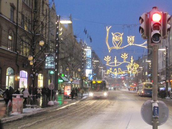 Hameenkatu: Tampere Festival of Light