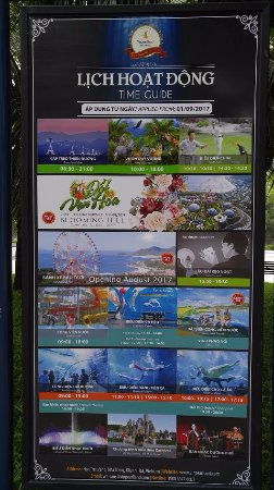 show timing schedule picture of vinpearl cable car nha trang