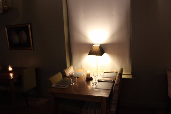 Beccles, UK: A cozy table by the window for four.