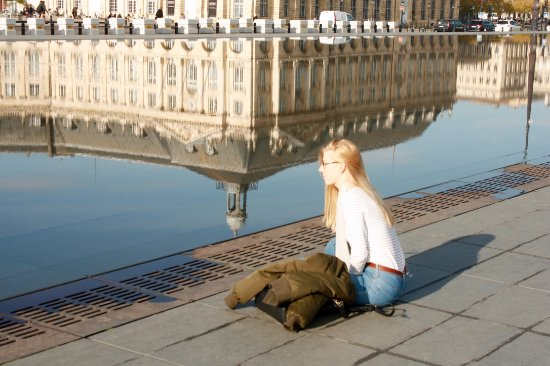 Place de la Bourse (Place Royale): Reflections