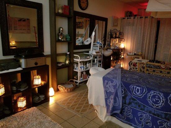 Σεντ Τζόρτζ, Γιούτα: Massage room