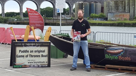 Drogheda, Irland: Promoting at the National Maritime Festival