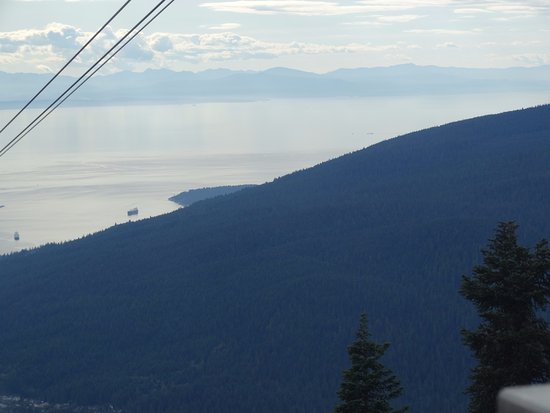 North Vancouver, Canadá: Grouse Mountain Skyride