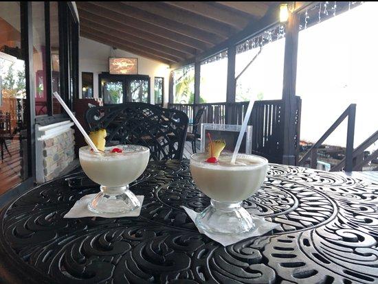 Radisson Fort George Hotel and Marina: pina colada bogo
