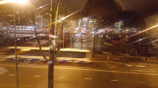 City Hotel Amsterdam: Vistas desde la habitación