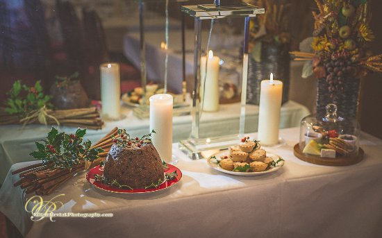 Roscommon, Ireland: Festive Desserts at the Abbey Hotel