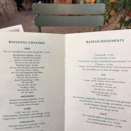 Cafe Jardin Majorelle Marrakech: photo2.jpg