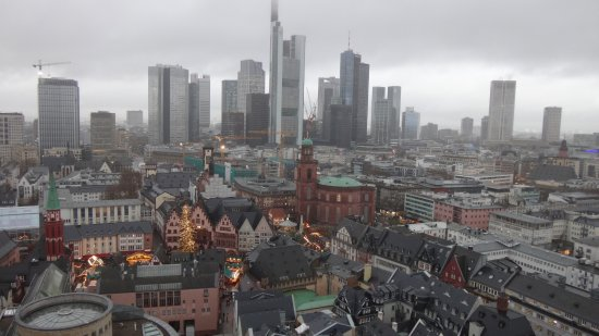Weihnachtsmarkt Frankfurt Main.From Dom S Turm Bild Von Frankfurter Weihnachtsmarkt Frankfurt Am