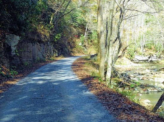 Camp Creek, Virginia Occidental: road through park