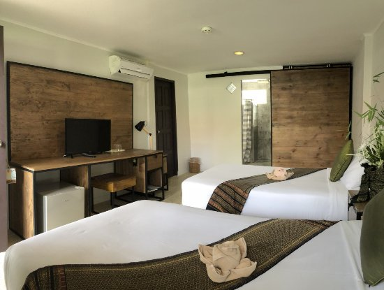 Sam Roi Yot, Thailand: Bungalow Twin Bed