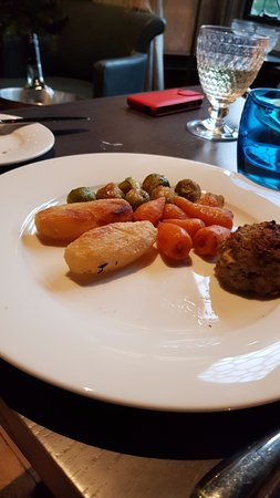Eastwell Manor: £25 vegetarian option they serve
