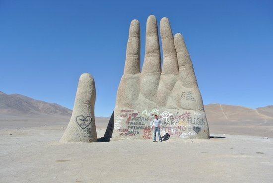 Antofagasta Region, Cile: La mano del desierto