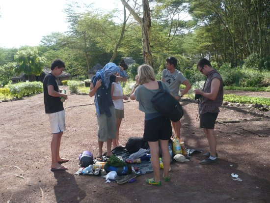 Lake Manyara National Park, Tanzania: THIS IS OUR GUEST ARE READY TO GO ON CUTURAL TOUR, WALKING TO MASAI BOMAS AND MANY PLACES VISIT,