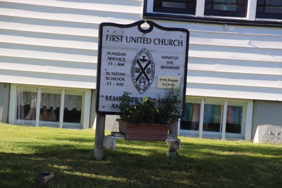 First United Church in Louisbourg