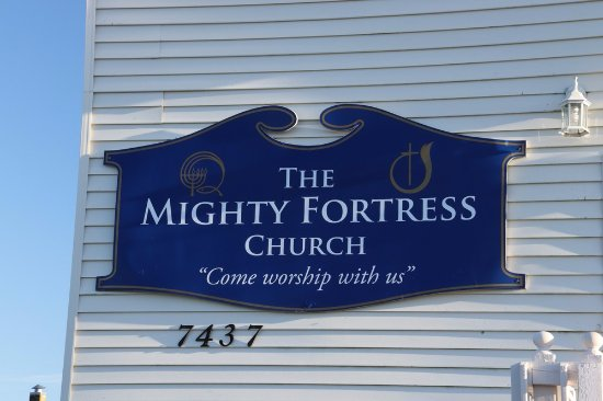 Louisbourg, Canada: The Mighty Fortress Church