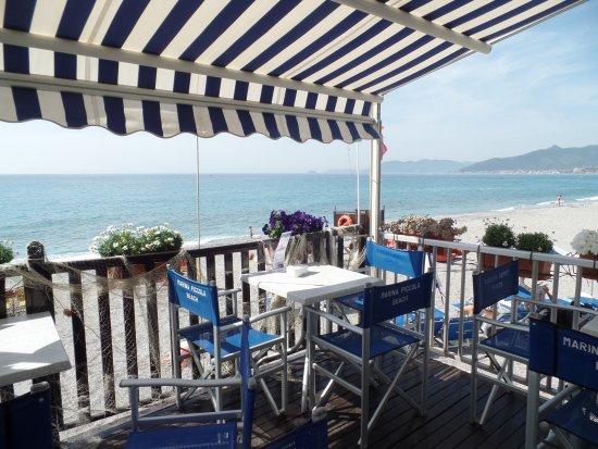 Marina Piccola Beach : Hier sitzt man gern zum Essen