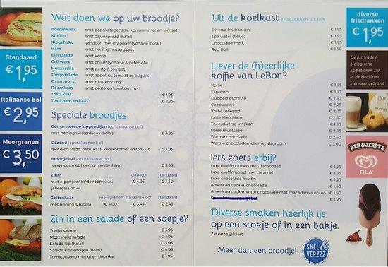 Hoofddorp, Hollanda: What is on the menu?