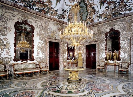 Royal Palace Of Madrid: Salón Interior