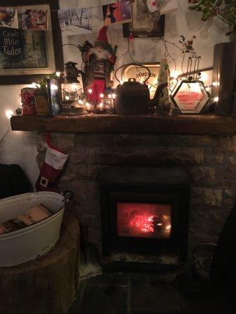 Oughterard, Irlanda: Comida buenísima y ambiente inmejorable!!!