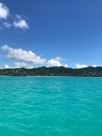 Jolly Harbour, Antigua: View from the boat