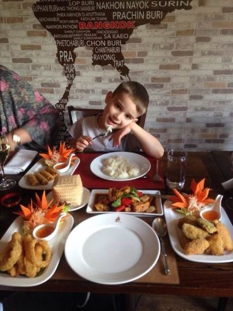 Bishops Stortford, UK: Family meal