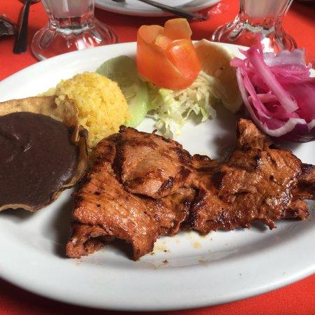 Piste, Mexico: Recomiendo la pierna!