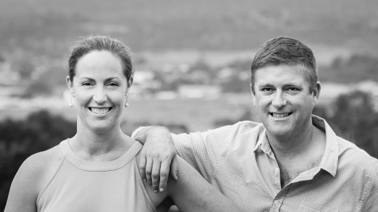Brock + Fi - the couple behind Launceston's best gourmet walking tours