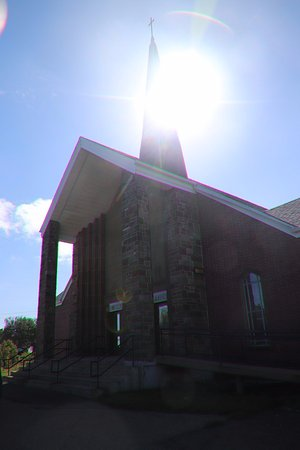 Immaculate Conception Church: The entrance
