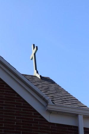 Immaculate Conception Church: The cross