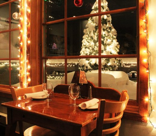 Ketchum, ID: Our cozy dining room is the perfect spot for dinner
