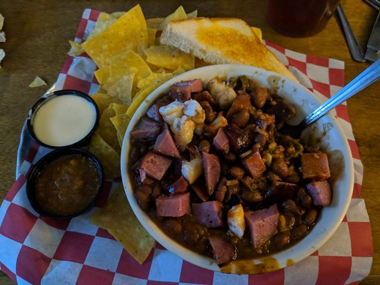 Brentwood, TN: Texas Jumbo-laya comes in a jumbo sized bowl