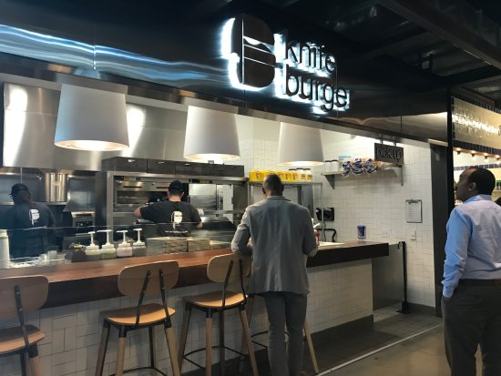 Legacy Food Hall Knife Burger