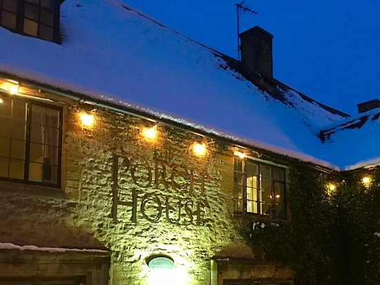 The Porch House: Sundays evening walk