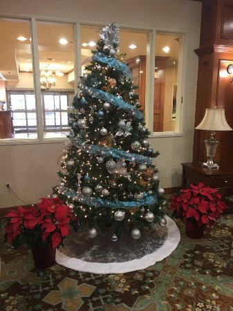 Mansfield, TX: Christmas decor in dining room