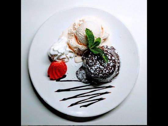 Denville, NJ: Chocolate Lava Cake.