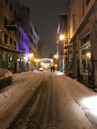 InterContinental Montreal : Winter wonderland