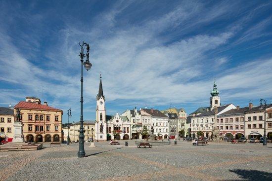 Trutnov, Česká republika: Krakonošovo náměstí