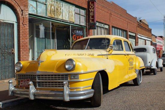 Bisbee, AZ: Cab anyone?