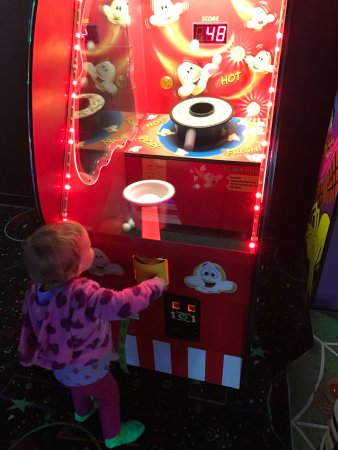 Outer Limits Fun Zone: Even Toddlers can play in the Arcade