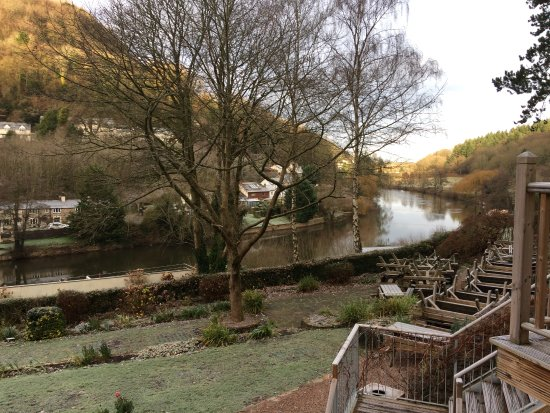 Symonds Yat, UK: View from Bridal suite