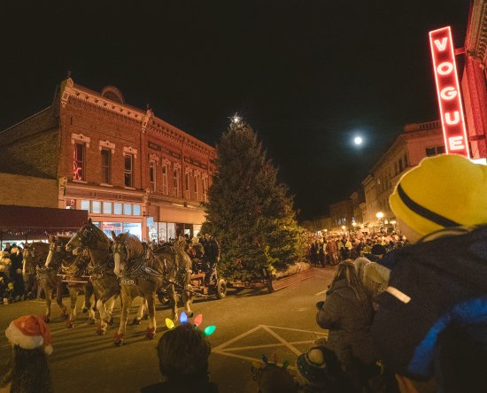 Manistee County, มิชิแกน: Victorian Sleighbell Parade