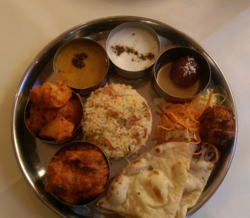 Horley, UK: Lunch Thali